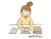☆幅広い年齢の方が活躍されています☆寝具などのたたみ作業など:瀬戸市の写真