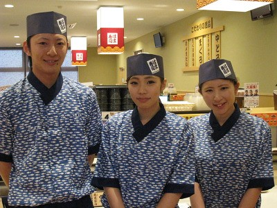 はま寿司 松阪三雲店のアルバイト情報