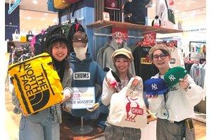 10代~50代の幅広いお客様に愛される 帽子・バッグ・のお店です
