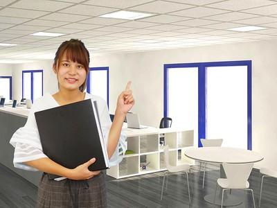 渋谷のシェアオフィス(週2~3日)(株式会社ミライナビ)の求人画像