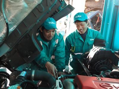 トールエクスプレスジャパン株式会社 大阪工場(自動車整備士・正社員)(1426418)の求人画像