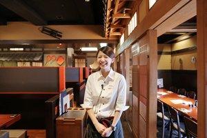 店内は、江戸時代末期の活気あふれる町並みを再現!