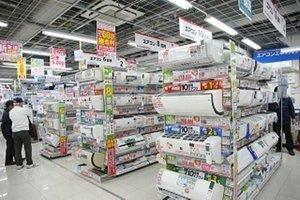 新宿駅チカ家電量販店でのエアコン販売のオシゴト*