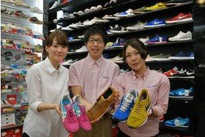 ☆未経験の方大歓迎☆靴の接客販売のお仕事です♪