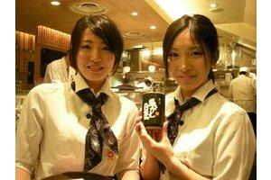 ようこそ!魚がし日本一スタンディング寿司バーへ♪