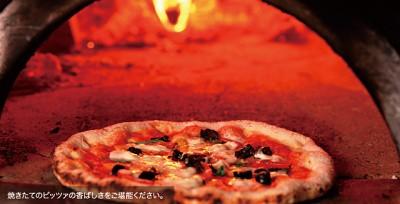 自家製生地を使ったピザや熟成パスタが自慢のお店☆
