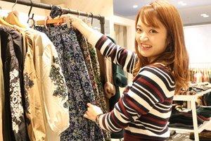 【20代スタッフが活躍中】洋服が好きな方・アパレルに興味がある方歓迎!