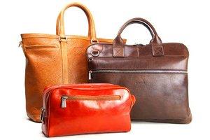本革が魅力のバッグと鞄の専門商社