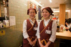 朝又はラストに働けるスタッフ募集中♪話題のエキュート上野内にあるお店!