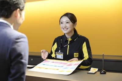 タイムズカーレンタル 広島新幹線口店(アルバイト)レンタカー業務全般2のアルバイト情報