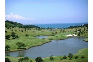 南国のリゾートゴルフ場