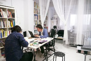 クリエイター達が、様々な手段を用いてお客様のイメージを具現化します。