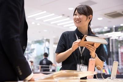 【清水】未経験歓迎の大手キャリアスタッフ:契約社員(株式会社フェローズ)のアルバイト情報