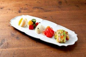 「野菜のおいしさ召し上がれ」  彩り鮮やかな漬物たち