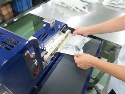 病院内で使用した医療器具の洗浄業務