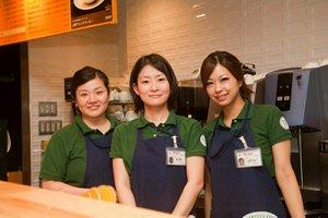 人気の上野エキナカcafeでスタッフ大募集です☆