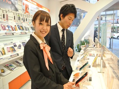 株式会社日本パーソナルビジネス 白井市エリア(携帯販売1400~1600)のアルバイト情報