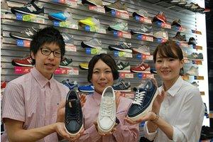 駅近☆未経験&土日祝できる方歓迎☆靴の接客販売のお仕事です♪