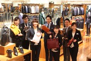 SUIT SELECT COCOLO新潟店(契約社員)<589>のアルバイト写真1