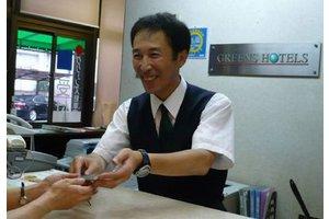 金沢片町交差点から徒歩1分のビジネスホテルです♪