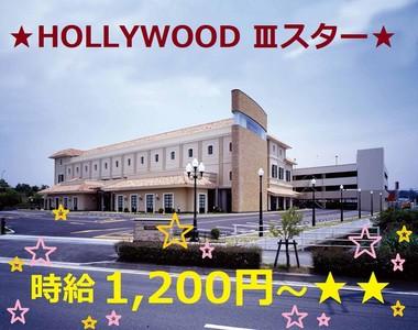 ハリウッド 3スターのアルバイト情報
