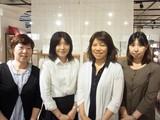 西川産業 東武百貨店池袋店  寝具売場のアルバイト
