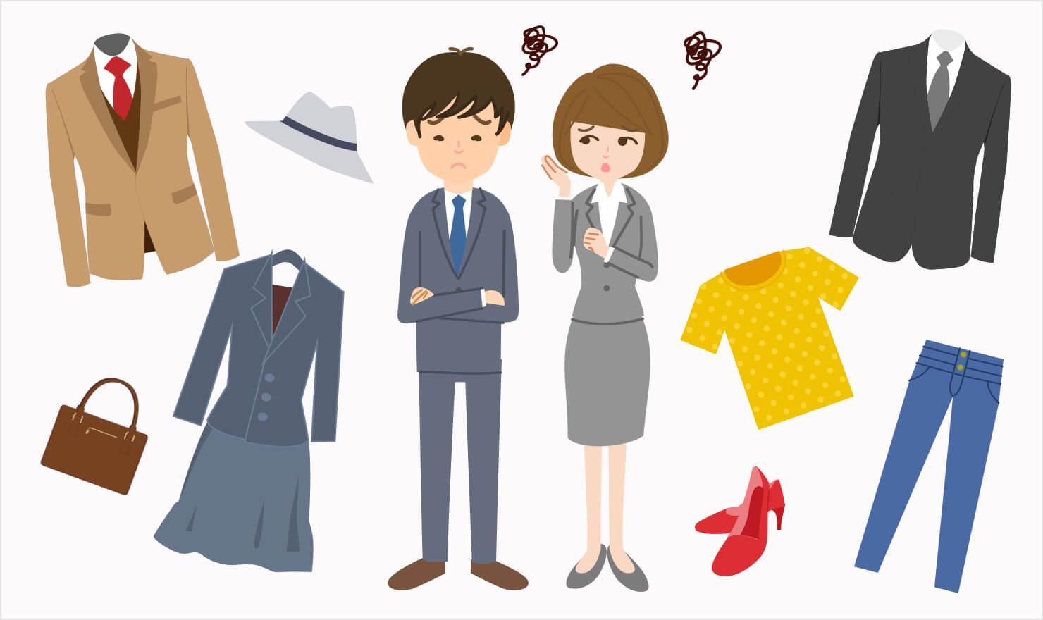 面接での服装にもう迷わない!印象UPのスーツ・私服の選び方 | JOBSHIL