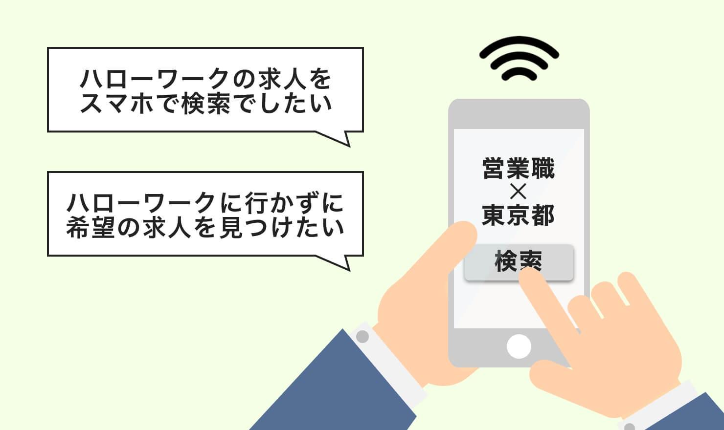 インターネットでハローワークの求人を検索する方法を紹介 | JOBSHIL