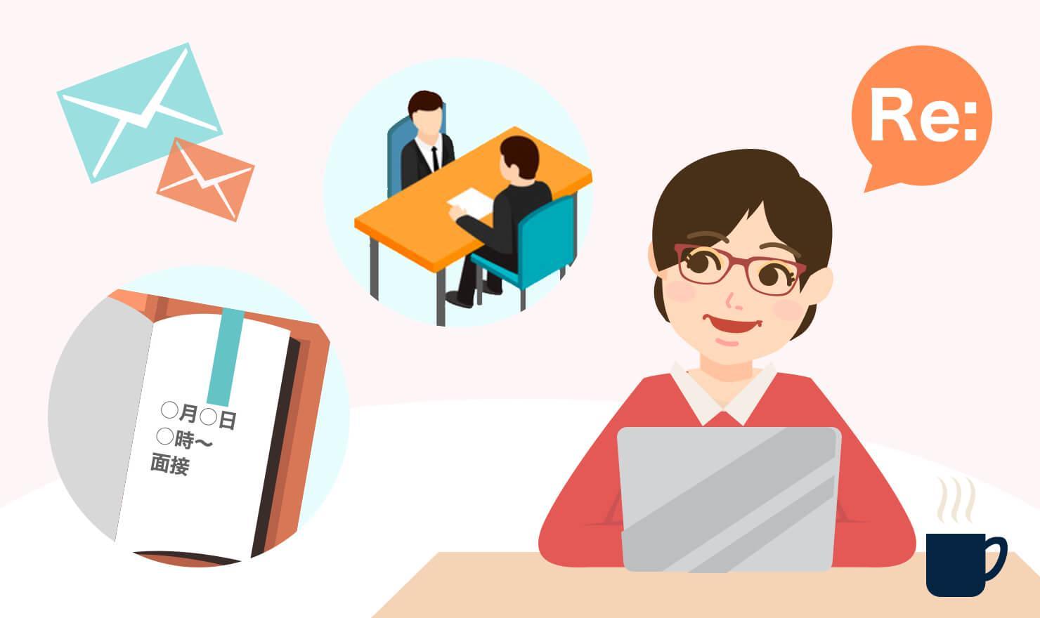 【例文あり!】面接関連メールの返信で気をつけるべきポイント